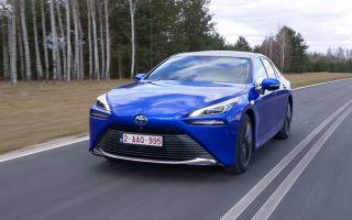 Toyota Mirai — автомобиль с водородным двигателем