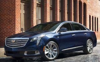 Cadillac XTS в 2017 пережил обновление