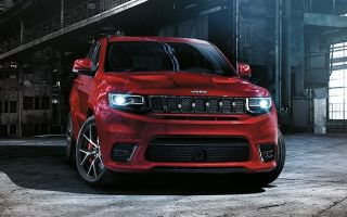 Jeep Grand Cherokee SRT — тест драйв