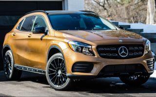 Mercedes-Benz GLA новый Мерседес GLA интерьер, экстерьер
