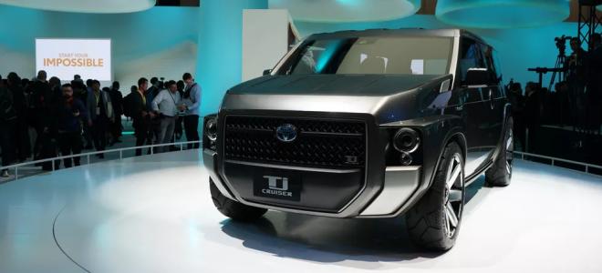 Toyota TJ Cruiser Concept – адская смесь кроссовера и компактвэна