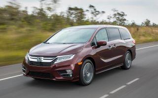 Минивен Honda Odyssey пятого поколения