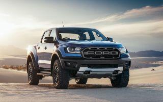 Ford Ranger Raptor показал свое лицо после рестайлинга