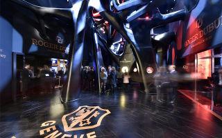Мировая выставка автомобилей в Женеве