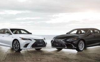 Lexus ES – новинка из страны восходящего солнца