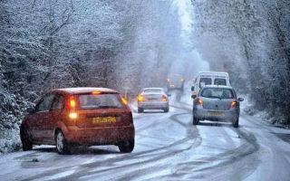 Как безопасно ездить зимой в гололед?