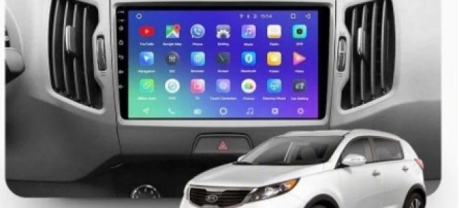 Автомагнитолы на Android Kia Sportage 3: лучшие представители