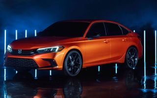 Как будет выглядеть новый Honda Civic 2022