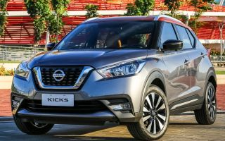 Ниссан Кикс Nissan Kicks, новый компактный кроссовер