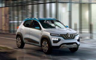 Renault K-ZE – новый электрокроссовер, продажи которого стартуют в этом году
