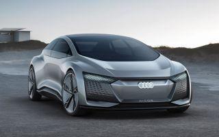 Audi Aicon concept фото, видео обзор Ауди Айкон