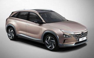 Hyundai FCEV — водородный автомобиль дебютировал на международной арене в рамках авто шоу