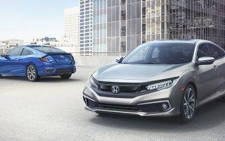 Honda Civic после планового рестайлинга