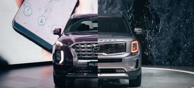 KIA Telluride против Hyundai Palisade: как соотносятся новые трехрядные внедорожники