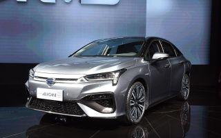 GAC Aion S 2019 – новая модель электрического автомобиля из КНР