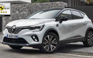 Пять звезд Euro NCAP для нового Renault Captur