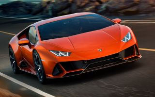 Ламборгини Хуракан EVO – обновление модели от итальянского автопроизводителя