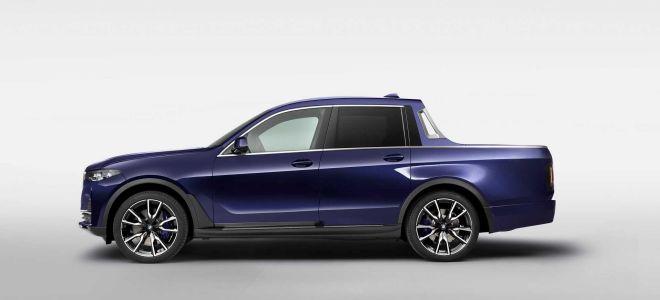 BMW X7 в качестве пикапа
