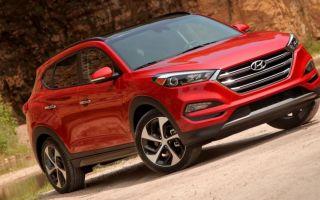 2019 Hyundai Tucson SUV, новый Хундай Туксон
