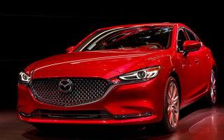 Mazda 6 2018, обновление легкового флагмана Мазда 6