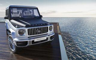 Интерьер Mercedes-AMG G63 Yachting Edition от Карлекс Дизайн