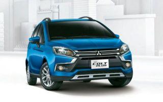 """Mitsubishi Colt Plus 2017 обновили в стиле """"Х"""""""