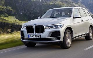 БМВ Х7 фото, видео обзор кроссовера BMW X7 Concept