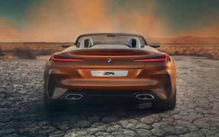 BMW Z4 Concept фото, видео нового БМВ Z4 2017