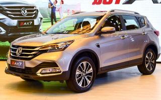Dongfeng AX7 2018 с новый движком. Донг Фенг АХ7 обновился в 2018 году