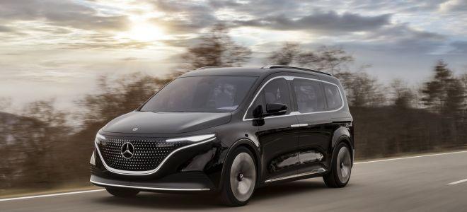 Mercedes EQT Concept — этот электрический комби выглядит неплохо