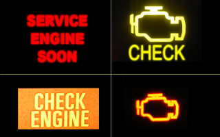 Что делать, если загорелась лампочка Check Engine