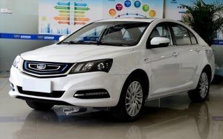 Джили Эмгранд 2018, электрокар Geely Emgrand EV450 обновился