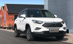 JAC S4 – новая стильная модель от китайского автопроизводителя