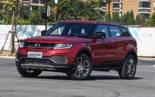Новый Landwind X7 китайский Range Rover