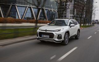 Тест Suzuki ACROSS, электромобиля из семейства Suzuki
