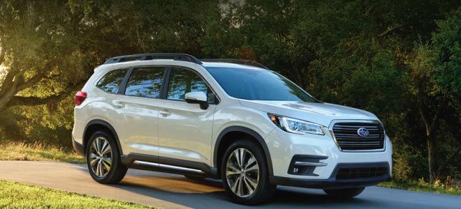 Флагманский Subaru Ascent 2018-2019 года.