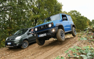 Suzuki Jimny против Fiat Panda 4×4 – какая модель будет лучшим выбором?