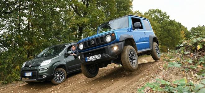 Suzuki Jimny против Fiat Panda 4×4 — какая модель будет лучшим выбором?