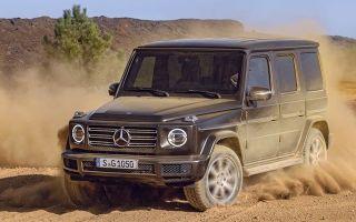 Mercedes Gelandewagen новая генерация легендарного автомобиля