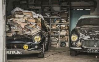 95 ретро автомобилей были спрятаны на ферме