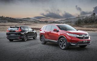 Honda CR-V 2017 модельного года начали сходить с конвейера