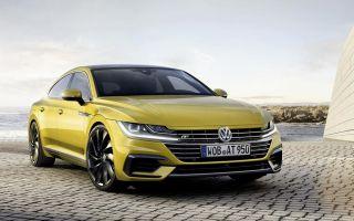 Volkswagen Arteon сменил Passat CC