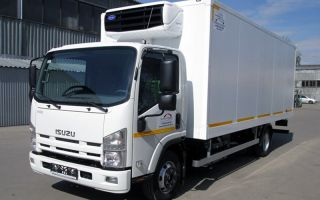 Isuzu NQR90 грузовик для профессионалов