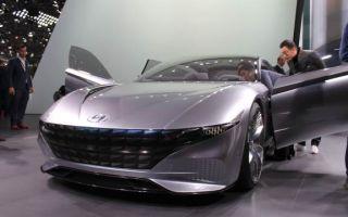 Hyundai Le Fil работает над электромобилем с новой системой элетроподзарядки