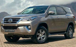 Toyota Fortuner 2017 года выходит на Российский рынок