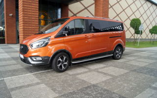 Ford Tourneo Custom Active — в своей стихии