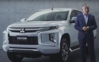 Новый Mitsubishi L200 (2019 Mitsubishi Triton)