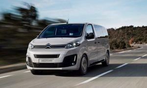 Полноприводный микроавтобус Ситроен — Citroen SpaceTourer Van