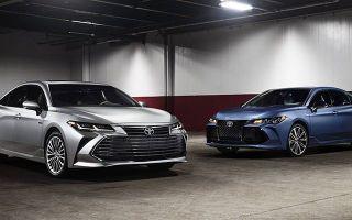 Toyota представляет новый седан Toyota Avalon 5 поколения