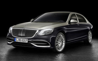 Mercedes-Benz Maybach S после рестайлинга